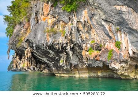 tropical karstic island Stock photo © smithore