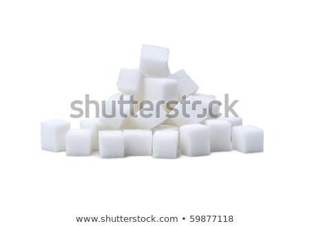 lump sugar pile Stock photo © prill