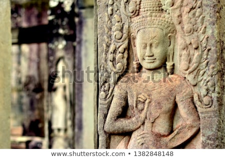 buddha kmher statue Stock photo © smithore