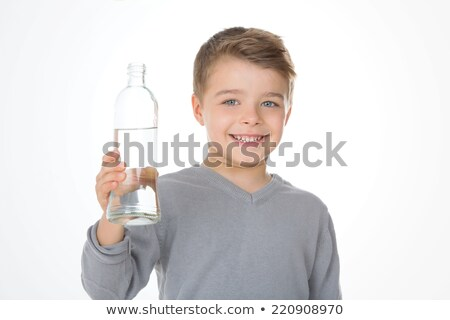 Little boy with glass bottles Stock photo © photography33