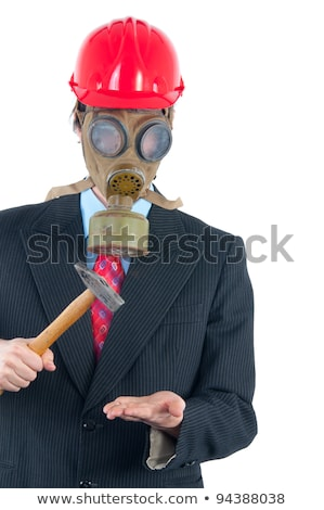 businessman putting a hammer to his head stock photo © photography33