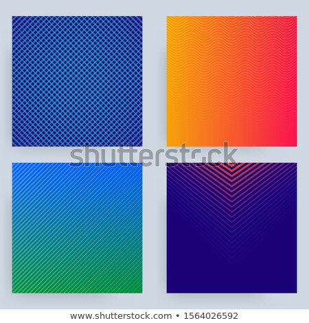 шаблон четыре цвета опции отдельный Сток-фото © lkeskinen