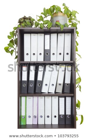 file folder with place for label stock photo © experimental