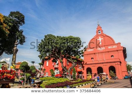 Melaka city fountain Stock photo © smithore
