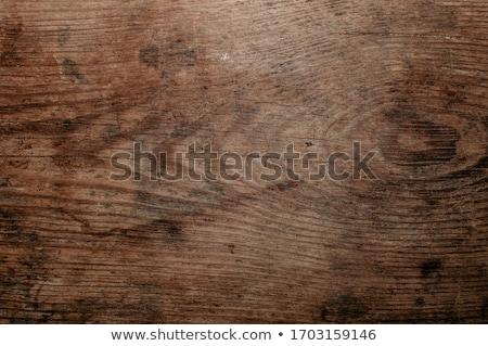 антикварная дерево древесины пластина Vintage Сток-фото © pterwort