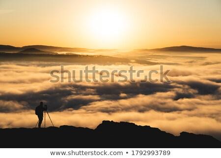 saxon switzerland with lilienstein stock photo © w20er