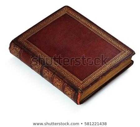 Eski kitap yalıtılmış kitap soyut uzay Retro Stok fotoğraf © ongap