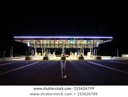 paying highway road toll Stock photo © alex_grichenko