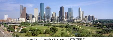 Houston skyline cityscape in Texas US stock photo © lunamarina