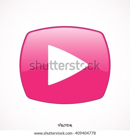 bod · nu · roze · vector · knop · icon - stockfoto © rizwanali3d