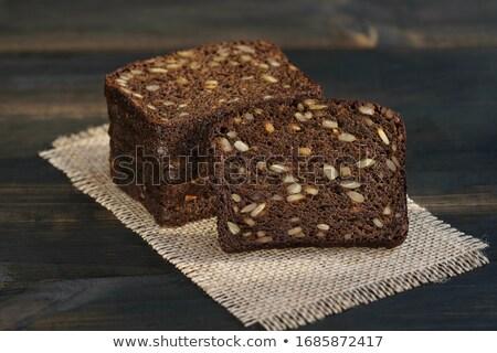 witte · donkere · brood · brood · graan · bruin - stockfoto © digifoodstock