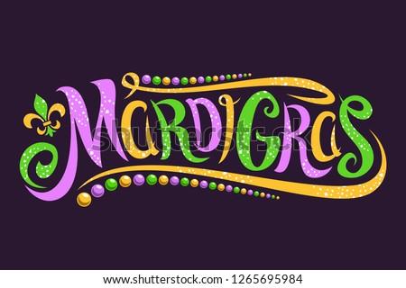 Mardi Gras dot background Stock photo © gladiolus