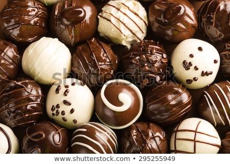 background of chocolate candy Stock photo © ozaiachin