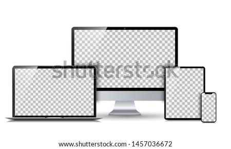 elettronica · vuota · bianco · smartphone · mobile - foto d'archivio © loopall