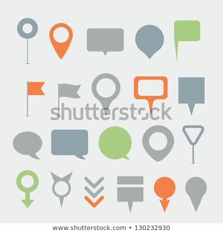 поиск зеленый вектора икона дизайна цифровой Сток-фото © rizwanali3d