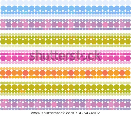 banner bubble bands in multiple cheerful color Stock photo © Melvin07