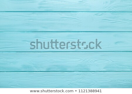 rustic blue planks surface stock photo © stevanovicigor