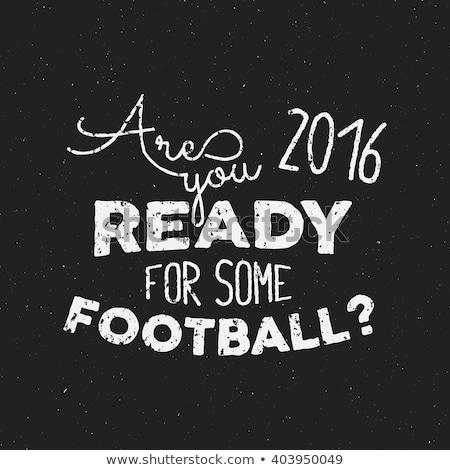 france europe 2016 football typography label soccer overlay tournament logo championship league stock photo © jeksongraphics