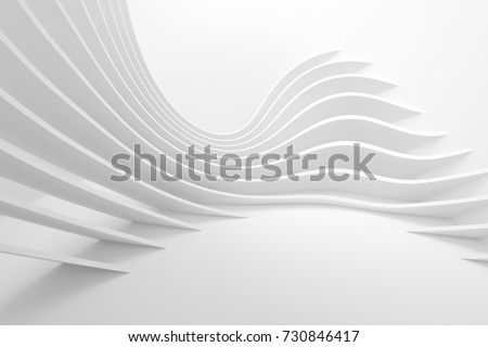 abstract · moderne · architectuur · 3D · lege · Open - stockfoto © user_11870380