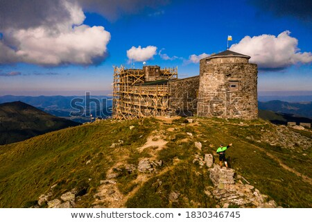 Old observatory on the top of the mountain Stock photo © Kotenko