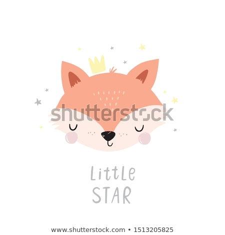 Photo stock: Cartoon · Fox · illustration · graphique