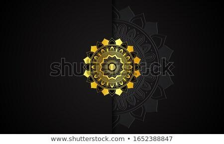Prim altın mandala stil dekoratif dizayn Stok fotoğraf © SArts