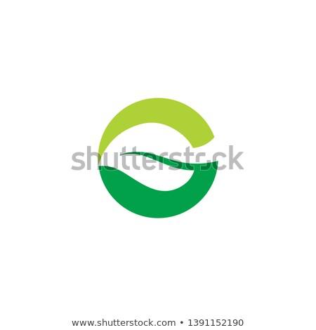手紙 ロゴ 緑 アイコン ベクトル シンボル ストックフォト © blaskorizov