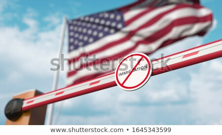 Ban On Immigration Stock photo © Lightsource