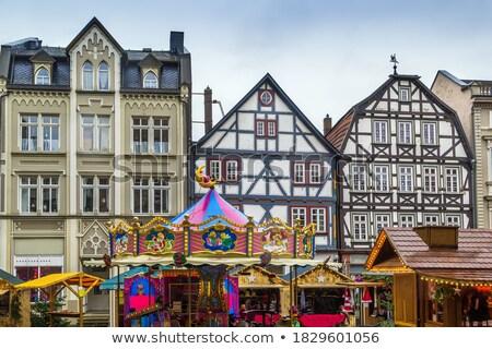 メイン 広場 ドイツ 歴史的 クリスマス 市場 ストックフォト © borisb17