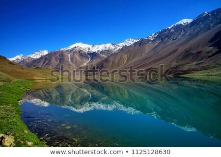 谷 ヒマラヤ山脈 パノラマ 山 山 旅行 ストックフォト © dmitry_rukhlenko