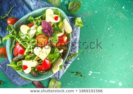 vert · laitue · salade · 14 · alimentaire · feuille - photo stock © TheProphet