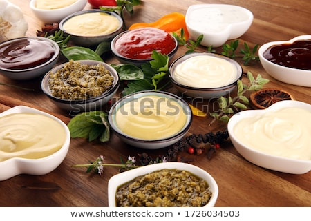 Soy and Ketchup Sauces Stock photo © zhekos