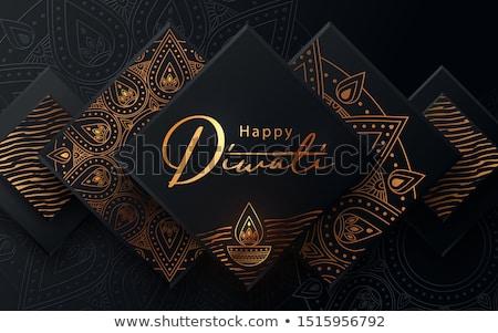 abstract diwali card design Stock photo © rioillustrator