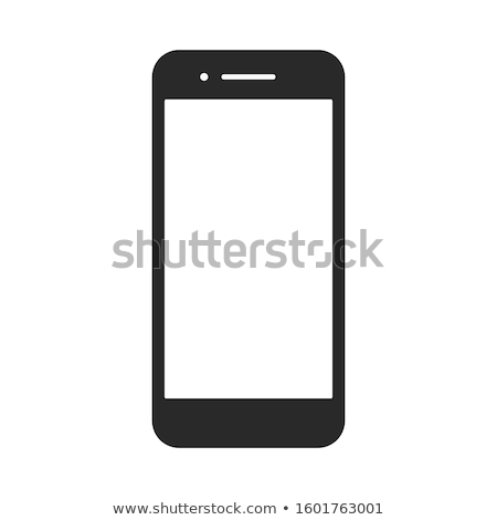 ios 7 style mobile app icons isolated on white background Stock photo © cidepix