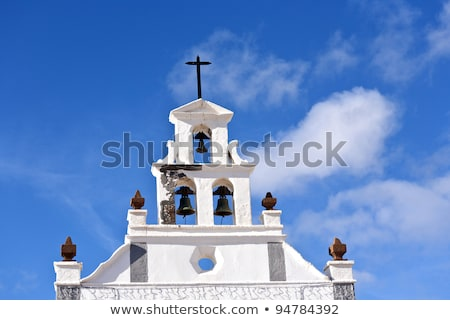 beautiful catholic church of San Bartholomae in Lanzarote  Stock photo © meinzahn
