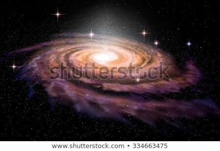 espiral · vórtice · galaxia · espacio · profundo - foto stock © cherezoff