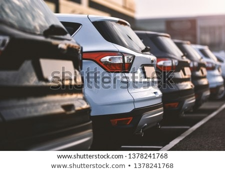 Parque de estacionamento carro tráfego parque inglaterra Foto stock © gemenacom