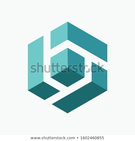 month in 3d cubes Stock photo © marinini