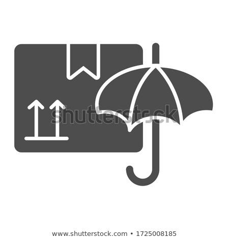 紙 白 固体 傘 シームレス ストックフォト © Zebra-Finch