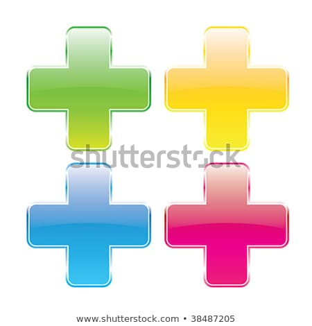 Warning Sign Blue Vector Button Icon Design Set Stock photo © rizwanali3d