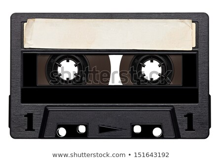 close up of vintage audio tape Stock photo © netkov1