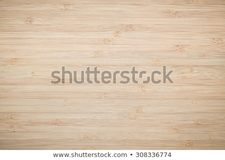 Cutting board on rustic wooden kitchen table, top view Stock photo © stevanovicigor