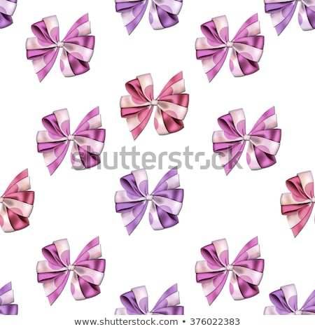All over background Seamless pattern - Little cute bows and ribbons in vivid and bright colors on a  Stock photo © gigi_linquiet