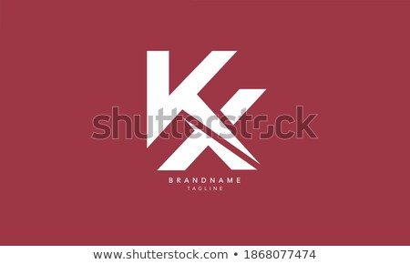Stock photo: X Letter Logo Template