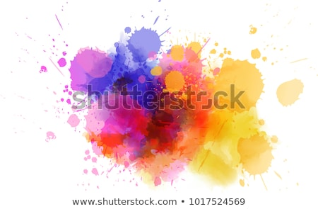 colorful paint stain Stock photo © SArts