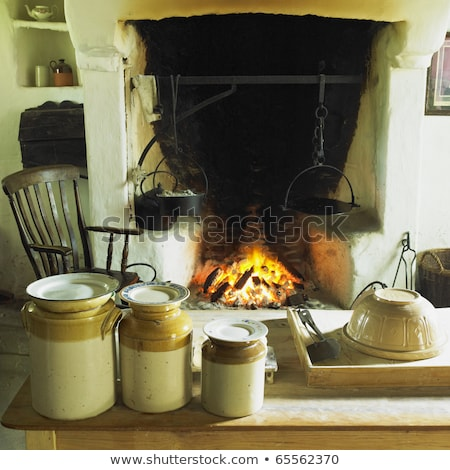 Ulster American Folk Park, County Tyrone, Northern Ireland Stock photo © phbcz
