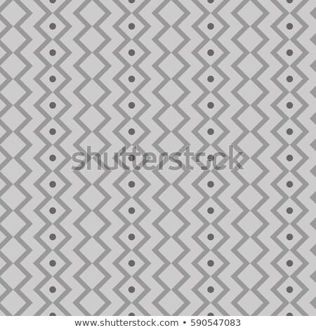 Ornamento listrado vetor sem costura monocromático padrão Foto stock © samolevsky