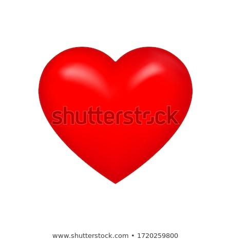 Foto stock: Abstrato · brilhante · vermelho · coração · casamento · projeto