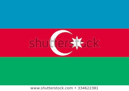 Vlag Azerbeidzjan illustratie ontwerp kunst Stockfoto © claudiodivizia
