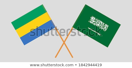 Flag Gabon Stock photo © Ustofre9